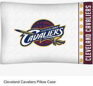 NEW NBA BASKETBALL TEAM PILLOWCASE Cleveland Cavaliers, 1 Pillowcase Per Pack