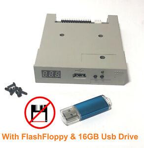 Gotek Amiga Atari ST USB Floppy Disk Emulator FlashFloppy 3.xx w/16GB USB Stick