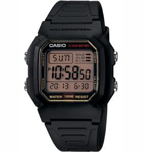 GENUINE Casio W-800HG-9A Men's Digital Classic Sport Watch Dive FREE SHIP AU