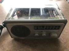 Sangean 2-Band AM/FM Radio Receiver WR-1 CLEAR WORKS TESTED