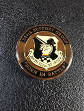 Authentic 347th Support Group  Coin -87
