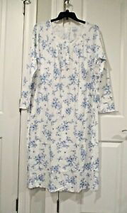 Croft and Barrow ballerina extra soft long sleeved nightgown size XL