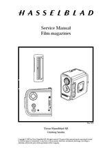 Hasselblad Film Magazines A12 A24 A16 E12 E16 E24 A12TCC Service Repair Manual