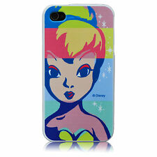 For iPod Touch 4 Tinkerbell Pop Art Disney TPU Silicone Cover Case