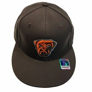 Cleveland Browns Reebok Dog Pound Swagger Flat Bill 7 5/8 Fitted Cap Hat $25