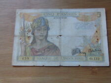 5 Piastres French Indochina (See Photos) #69