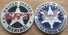 US Marshals Service - FirstGEN - SRT - Special Response Team challenge coin