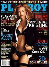 PLAYBOY JUNE 2007 Kristine Lefebvre Donald Trump  Sara Jean Underwood RCVR