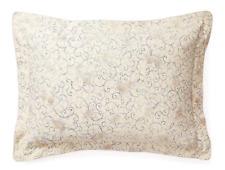 Ralph Lauren Madalena Audrey Tan Blue Floral Print Standard Pillow Sham