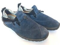 Timberland Smartwool Slip On Shoes Mens 7M Blue Nubuck Suede Leather Lounge