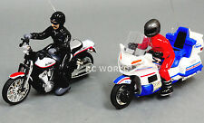 RC Radio Control POLICE + HARLEY MOTORCYCLES Bikes SET 2 BIKES + RADIOS