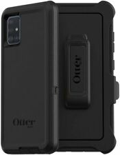 NEW OtterBox Defender Series Case for Samsung Galaxy A51 With Belt Clip Black
