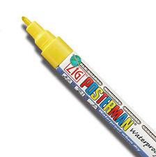 Waterproof Zig Posterman Fine Tip Paint Marker 1/32in 1mm semi-permanent
