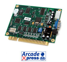 Multijuegos 60 en 1 Vertical Arcade Game PCB Classic jamma Board Multigames