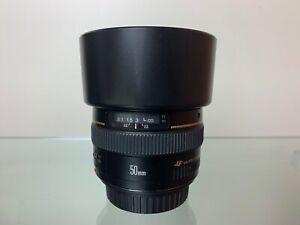 Canon EF 50mm f/1.4 USM Lens (Australian Stock)