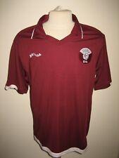 Qatar QFA home rare football shirt soccer jersey maillot camiseta trikot size XL