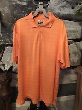 Adidas Climacool Polo Shirt Orange 2XL