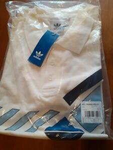 Classic Adidas Archive Ivan Lendl Stefan Edberg Polo Shirt 80's M L BRAND NEW