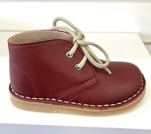 Petasil Koel Boys Boots in Bordeaux Savana Leather
