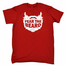 Fear The Beard T-SHIRT tee oil humour mens funny birthday gift present for him