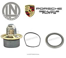 For Porsche 911 Boxster Cayman Set of Thermostat w/ Housing Gasket & Seal Kit