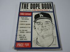 Vintage 1963 THE DOPE BOOK The Sporting News DON DRYSDALE Dodgers on Cover
