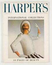 COURREGES Melvin Sokolsky DIOR Terence Donovan LANVIN Harper's Bazaar 1965 March