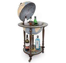 Globus-Bar Globe Getränkeschrank Blau hergestellt in italien m/