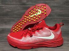 Nike Vapor Speed Turf Shoes Trainers Mens Size 18 Red White Lax Football 833408