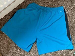Mens Blue Dri-Fit Swimming trunks - 32 inch waist