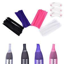 Coobbar 100pcs 4 Color makeup brushes net Protector Guard Elastic Mesh Beauty.