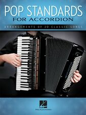 POP STANDARDS For Accordion Book *NEW* Sheet Music