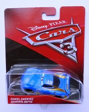 Disney Pixar Cars 3   DANIEL SWERVEZ  Very Rare Over 100 Cars Listed UK !!