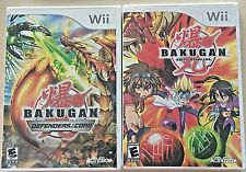 Wii Kids Games (Bakugan) Lot of 2 - In Case - Tested and Ready to Play!