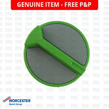WORCESTER HIGHFLOW GREEN/GREY CONTROL KNOB 87161410870 - GENUINE, NEW & FREE P&P