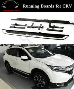Fits for Honda CR-V CRV 2018 2019 2020 2021 Side Step Nerf Bars Running Boards