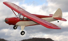 Large 1/5 Scale PIPER PA-12 SUPER CRUISER scratch build R/c Plane Plans 85 in.WS
