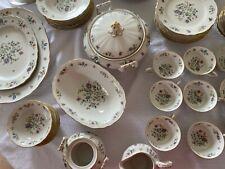 FRANCONIA Krautheim china MILLEFLEURS pattern 83-pc