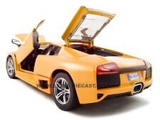 2007 LAMBORGHINI MURCIELAGO LP640 ORANGE 1:18 MODEL CAR BY MAISTO 31148