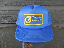Granges Exploration Ltd Blue Mesh Back Baseball / Truckers Cap