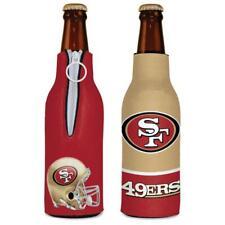 San Francisco 49ers 12oz Two Sided Bottle Cooler [New] Can Holder Foam Koozie