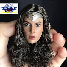 1/6 Gal Gadot WONDER WOMAN Female Head Sculpt For Hot Toys Phicen Figure ❶USA❶