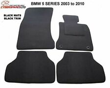 Bmw 5 Series E60/E61 2003-2010 Fully Tailored Car Mats