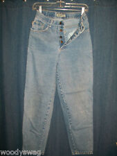 Generra Jeans Size 7 100% Cotton 5 buttons 26 Waist 30 Inseam
