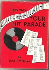 THIS WAS YOUR HIT PARADE - John R. Williams (hc/dj)