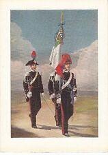 8880) ARMA DEI CARABINIERI, ALFIERE CON LA BANDIERA DEL CORPO.