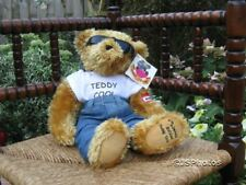 Metro UK Teddies Love Collection Teddy Cool Ltd Ed Jointed 15 Inch Plush