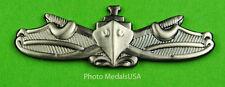 NAVY Surface Warfare Badge silver oxidized