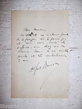 ✒ L.A.S. Alfred BRUNEAU compositeur chef orchestre à l'éditeur musique JOUBERT