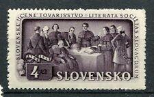 Eslovaquia - 1942 , Sello 82 , 150°Sociedad Literaria Eslovaco, Nueva